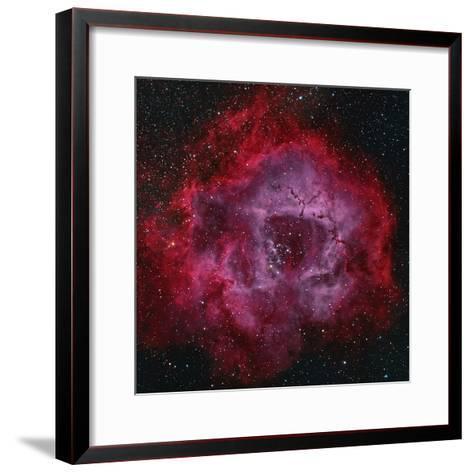 The Rosette Nebula--Framed Art Print