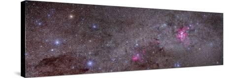 Mosaic of the Carina Nebula and Crux Area in the Southern Sky--Stretched Canvas Print