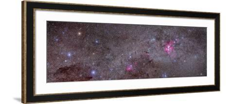 Mosaic of the Carina Nebula and Crux Area in the Southern Sky--Framed Art Print
