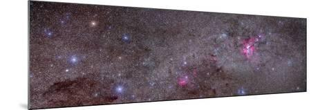 Mosaic of the Carina Nebula and Crux Area in the Southern Sky--Mounted Photographic Print