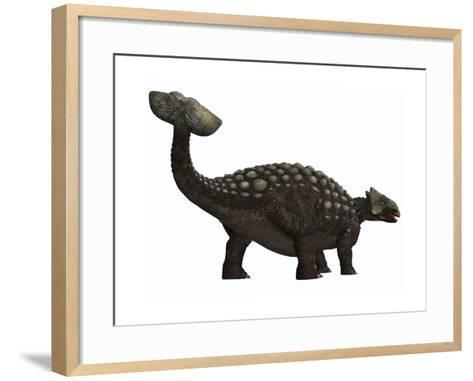 Ankylosaurus, a Heavily Armored Dinosaur from the Cretaceous Period--Framed Art Print