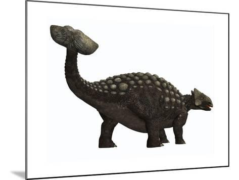 Ankylosaurus, a Heavily Armored Dinosaur from the Cretaceous Period--Mounted Art Print