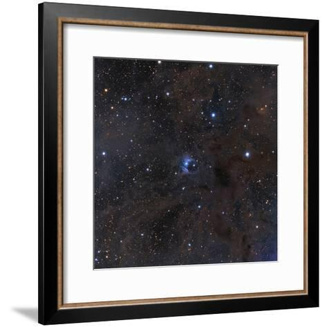The Bright Star Vdb 16, Dust and Nebulosity in the Constellation Aries--Framed Art Print