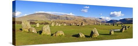 Standing Stones of Castlerigg Stone Circle Near Keswick-Neale Clark-Stretched Canvas Print