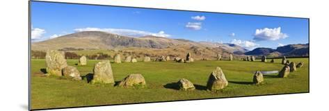 Standing Stones of Castlerigg Stone Circle Near Keswick-Neale Clark-Mounted Photographic Print