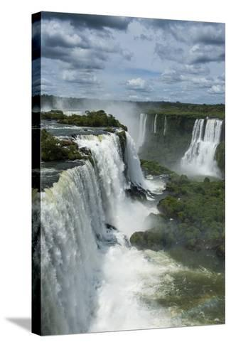 Foz De Iguazu (Iguacu Falls)-Michael Runkel-Stretched Canvas Print