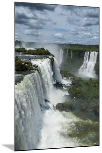 Foz De Iguazu (Iguacu Falls)-Michael Runkel-Mounted Photographic Print