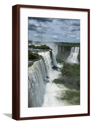 Foz De Iguazu (Iguacu Falls)-Michael Runkel-Framed Art Print