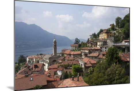 Village Overlooking Lake Garda, Italian Lakes, Lombardy, Italy, Europe-James Emmerson-Mounted Photographic Print