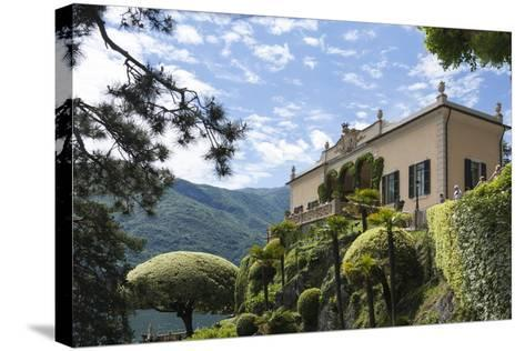 Villa Barbonella, Lake Como, Lombardy, Italy, Europe-James Emmerson-Stretched Canvas Print