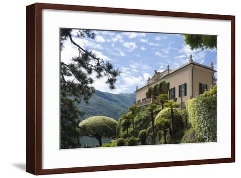 Villa Barbonella, Lake Como, Lombardy, Italy, Europe-James Emmerson-Framed Art Print