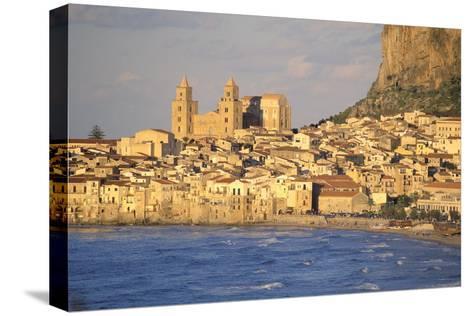 Cefalu, Palermo District, Sicily, Italy, Mediterranean, Europe-Bruno Morandi-Stretched Canvas Print
