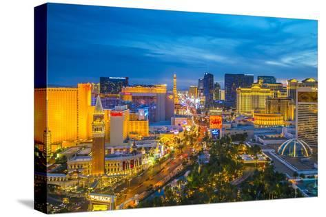 The Strip, Las Vegas, Nevada, United States of America, North America-Alan Copson-Stretched Canvas Print