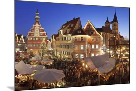 Christmas Fair at the Marketplace-Markus Lange-Mounted Photographic Print