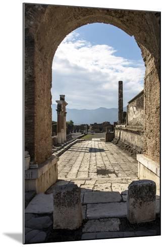 Pompeii Ruins, UNESCO World Heritage Site, Campania, Italy, Europe-Angelo Cavalli-Mounted Photographic Print
