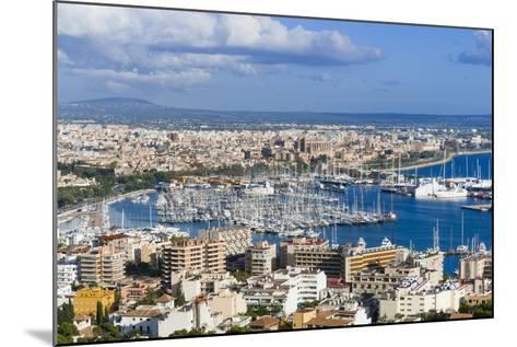 Palma De Majorca Harbor Bay from Bellver Castle-Nico Tondini-Mounted Photographic Print