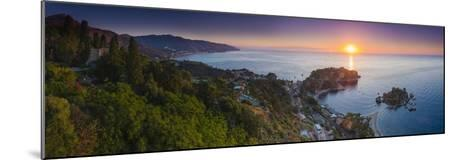 The Sicilian Coast at Sunrise-Matthew Williams-Ellis-Mounted Photographic Print
