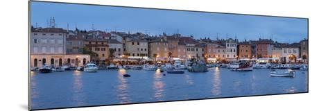 Panoramic Image of the Waterfront and Harbour-Markus Lange-Mounted Photographic Print