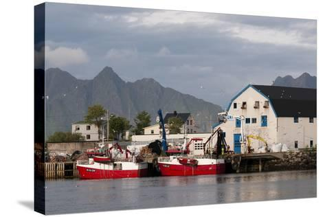 Svolvaer, Lofoten Islands, Norway, Scandinavia, Europe-Sergio Pitamitz-Stretched Canvas Print