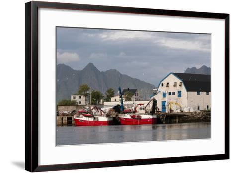 Svolvaer, Lofoten Islands, Norway, Scandinavia, Europe-Sergio Pitamitz-Framed Art Print