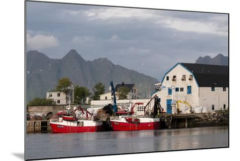 Svolvaer, Lofoten Islands, Norway, Scandinavia, Europe-Sergio Pitamitz-Mounted Photographic Print