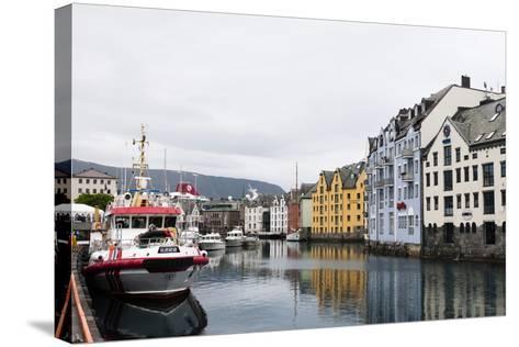 Alesund, Norway, Scandinavia, Europe-Sergio Pitamitz-Stretched Canvas Print