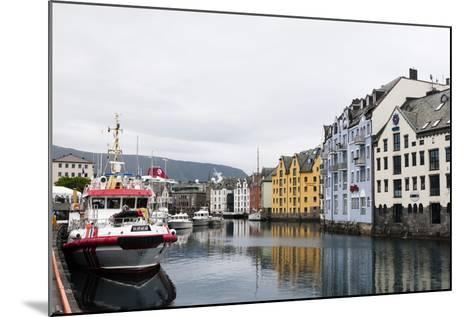 Alesund, Norway, Scandinavia, Europe-Sergio Pitamitz-Mounted Photographic Print