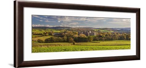 Raglan Castle, Monmouthshire, Wales, United Kingdom, Europe-Billy Stock-Framed Art Print