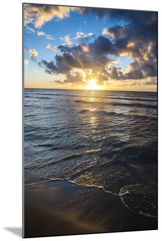 Sunset in Kauai, Hawaii, United States of America, Pacific-Michael Runkel-Mounted Photographic Print