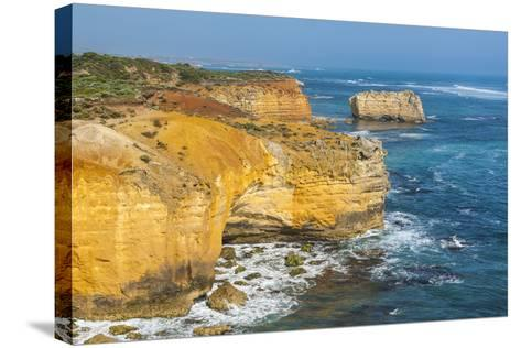 Bay of Islands Rock Formations Along the Great Ocean Road, Victoria, Australia, Pacific-Michael Runkel-Stretched Canvas Print