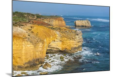 Bay of Islands Rock Formations Along the Great Ocean Road, Victoria, Australia, Pacific-Michael Runkel-Mounted Photographic Print