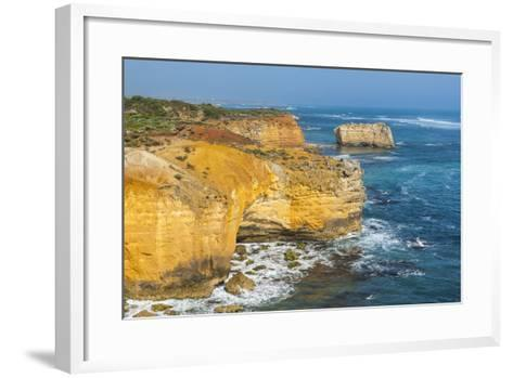 Bay of Islands Rock Formations Along the Great Ocean Road, Victoria, Australia, Pacific-Michael Runkel-Framed Art Print
