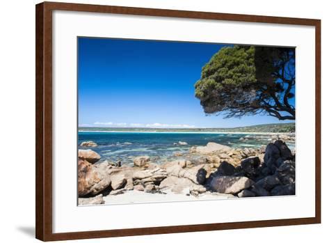 Rocky Cliffs on Shelley Cove Near Eagle Bay, Western Australia, Australia, Pacific-Michael Runkel-Framed Art Print