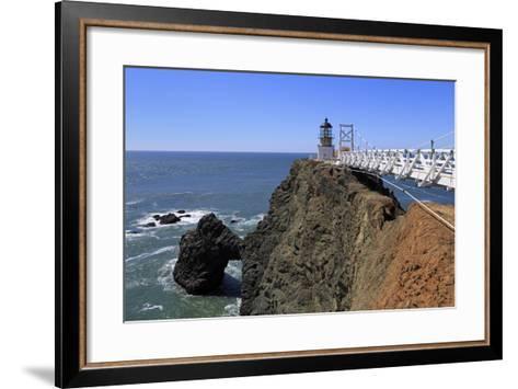 Point Bonita Lighthouse-Richard Cummins-Framed Art Print