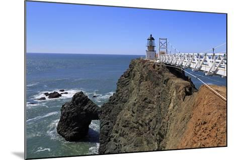 Point Bonita Lighthouse-Richard Cummins-Mounted Photographic Print
