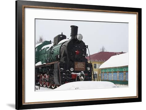 Balezino, 23 Minutes Stop at the Railway Station-Bruno Morandi-Framed Art Print