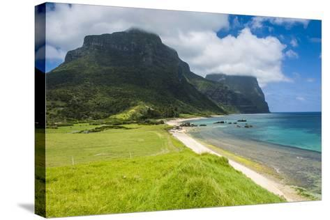 Mount Lidgbird and Mount Gower-Michael Runkel-Stretched Canvas Print