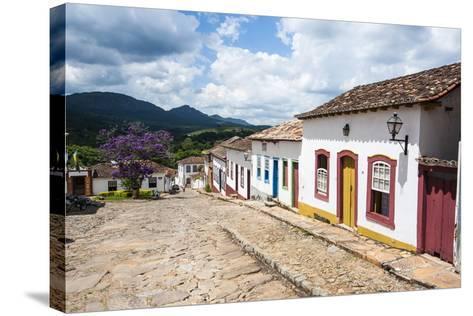Historical Mining Town of Tiradentes, Minas Gerais, Brazil, South America-Michael Runkel-Stretched Canvas Print