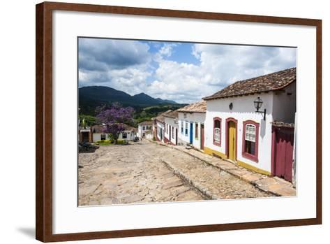 Historical Mining Town of Tiradentes, Minas Gerais, Brazil, South America-Michael Runkel-Framed Art Print