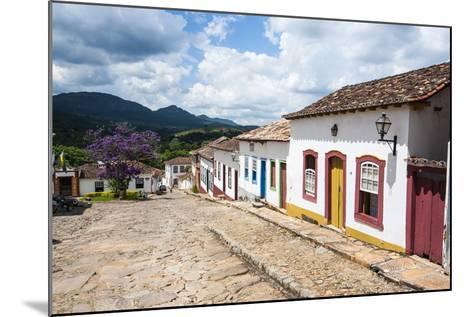 Historical Mining Town of Tiradentes, Minas Gerais, Brazil, South America-Michael Runkel-Mounted Photographic Print