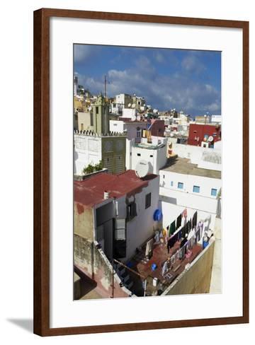 The Medina (Old City), Tangier, Morocco, North Africa, Africa-Bruno Morandi-Framed Art Print