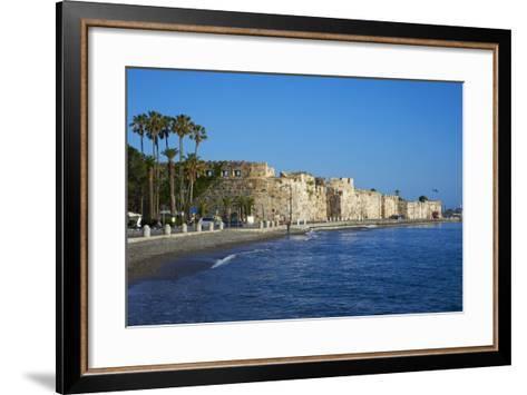 Old Town Castle, Kos, Dodecanese, Greek Islands, Greece, Europe--Framed Art Print