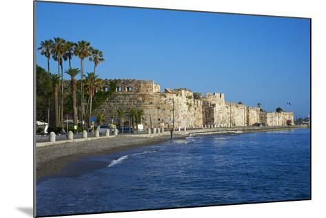 Old Town Castle, Kos, Dodecanese, Greek Islands, Greece, Europe--Mounted Photographic Print