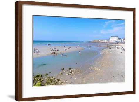 Wimereux Beach, Cote D'Opale, Region Nord-Pas De Calais, France, Europe-Gabrielle and Michel Therin-Weise-Framed Art Print