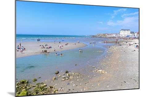 Wimereux Beach, Cote D'Opale, Region Nord-Pas De Calais, France, Europe-Gabrielle and Michel Therin-Weise-Mounted Photographic Print