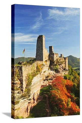 Altdahn Castle, Dahn, Palatinate Forest, Rhineland-Palatinate, Germany, Europe-Jochen Schlenker-Stretched Canvas Print