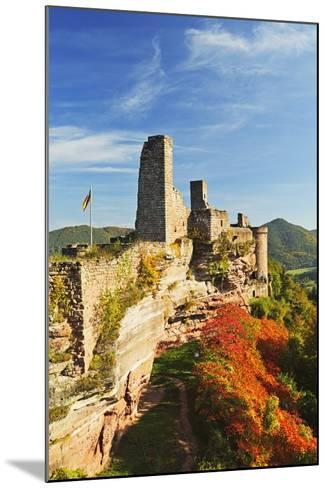Altdahn Castle, Dahn, Palatinate Forest, Rhineland-Palatinate, Germany, Europe-Jochen Schlenker-Mounted Photographic Print