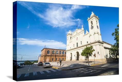 Cathedral of Asuncion, Asuncion, Paraguay, South America-Michael Runkel-Stretched Canvas Print