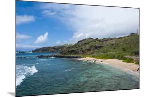 Sandy Beach, Island of Molokai, Hawaii, United States of America, Pacific-Michael Runkel-Mounted Photographic Print
