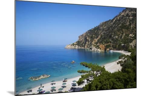 Apella Beach, Karpathos, Dodecanese, Greek Islands, Greece, Europe--Mounted Photographic Print